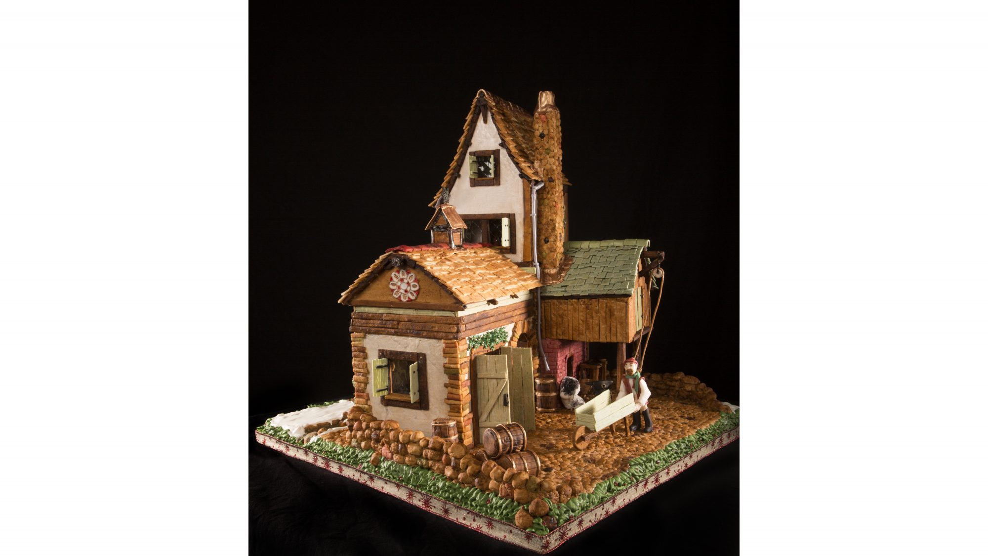 2016 Gingerbread House Competition Top 10 Team Finalist
