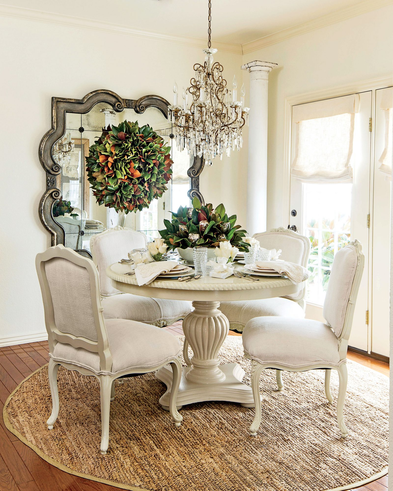 White Magnolia Dining Room