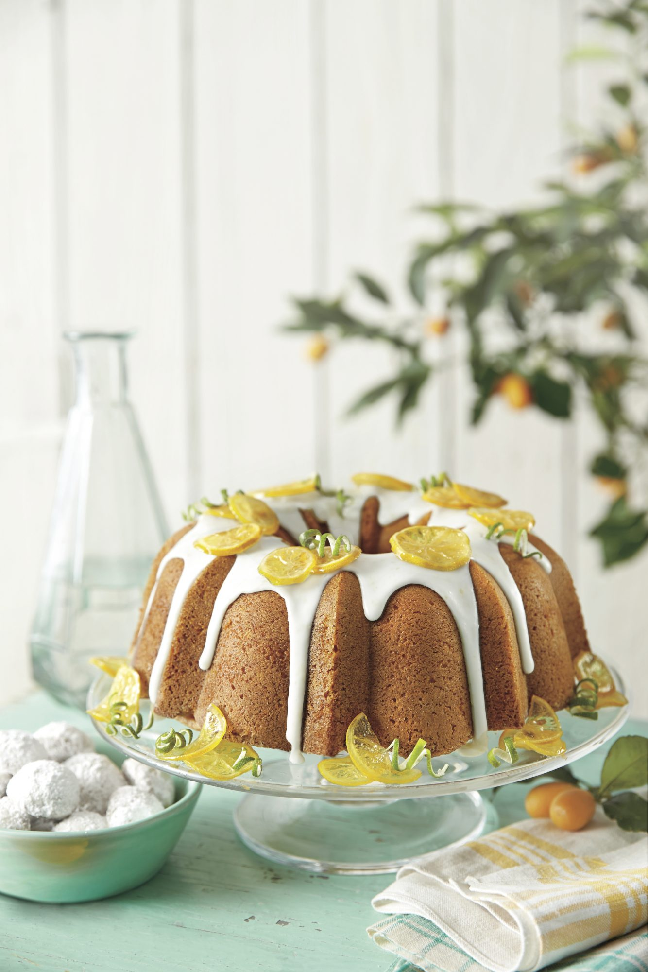 Best Lemon Recipes Lemon-Lime Pound Cake