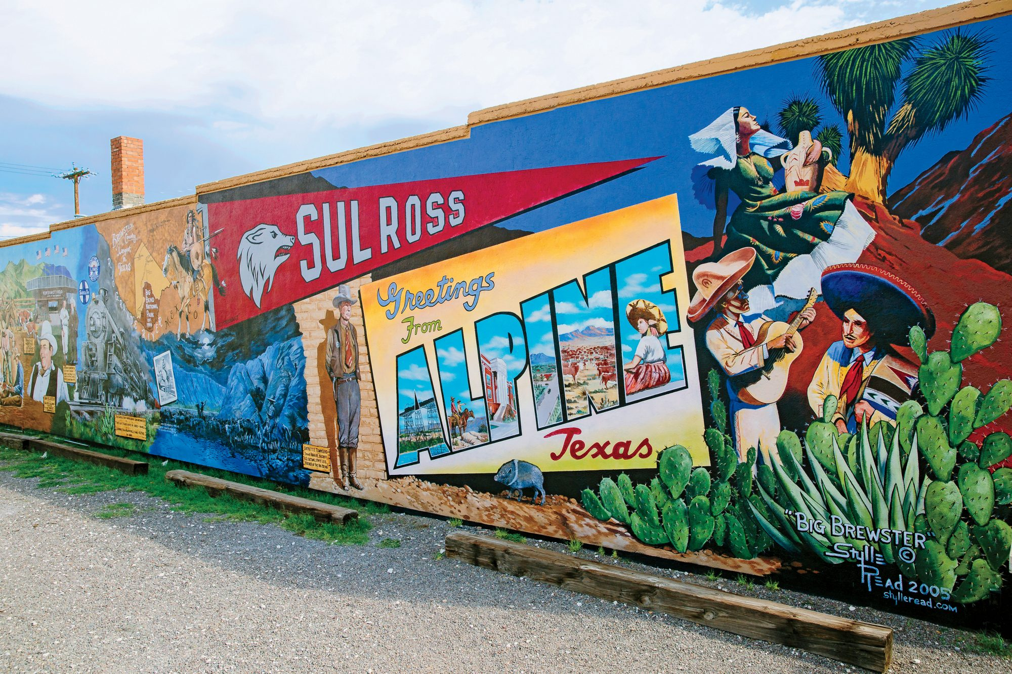 Alpine Mural in Texas