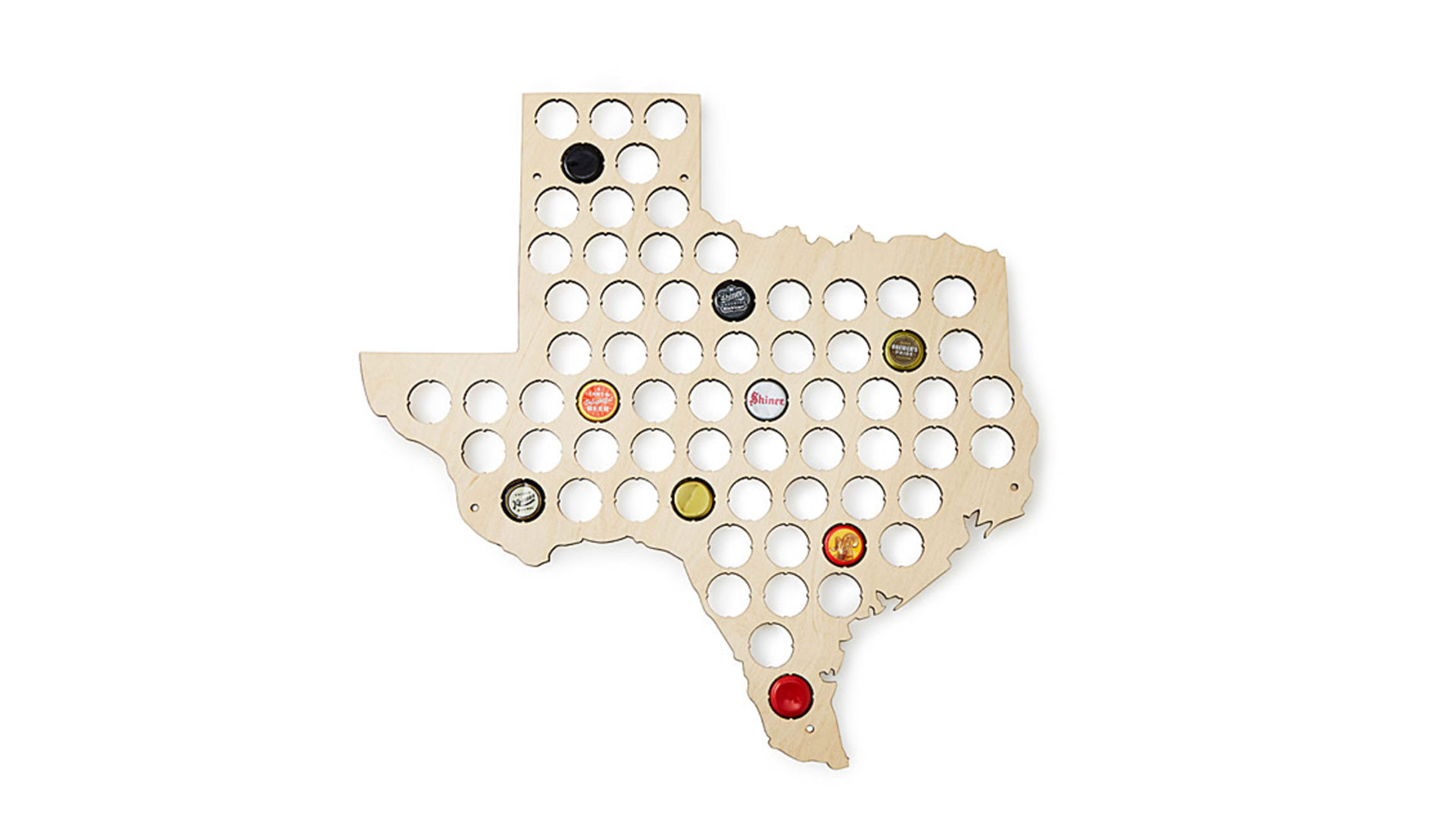 Beer Cap State Map