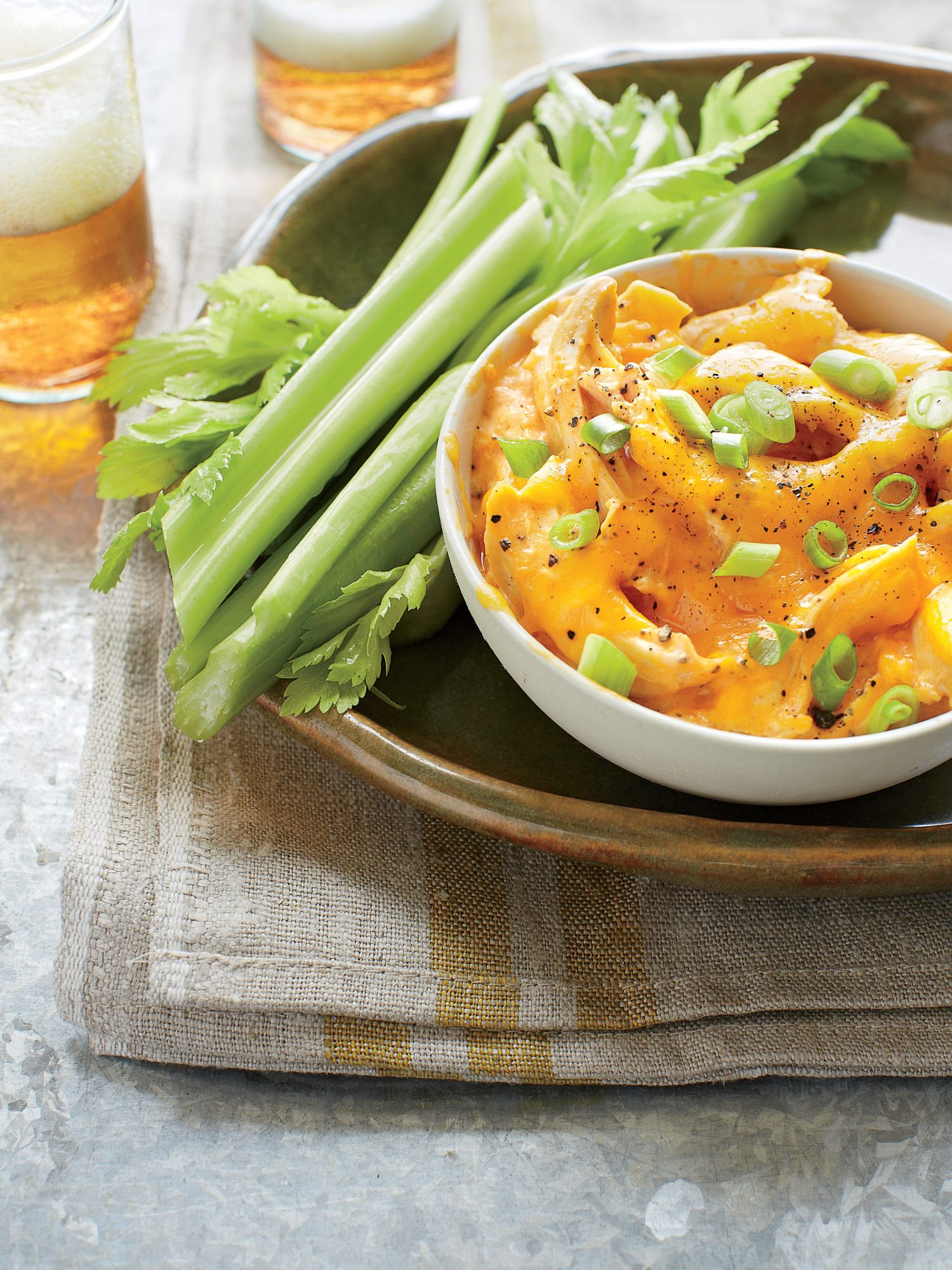 Buffalo Chicken-Cheese Dip