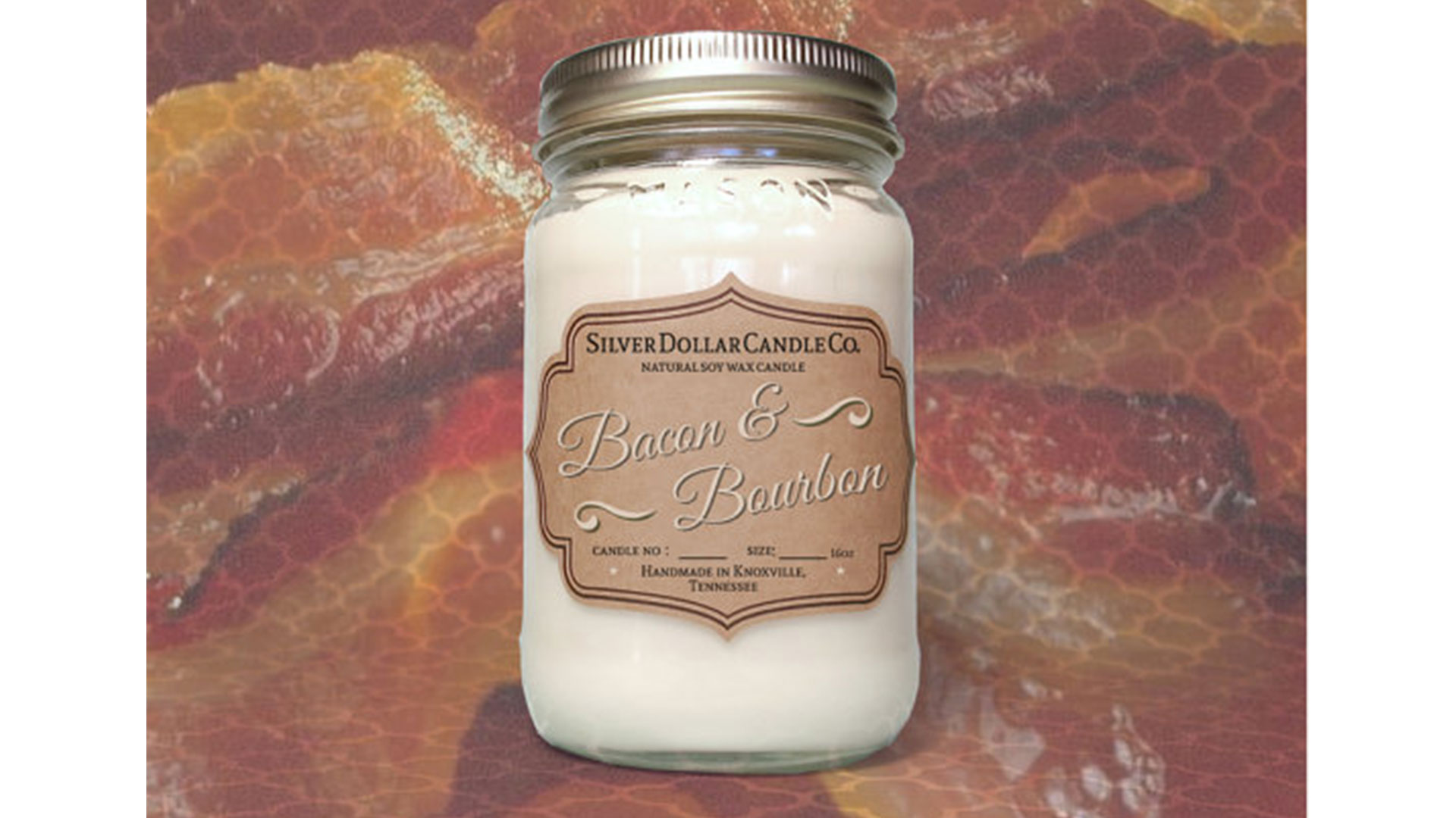 Bacon & Bourbon Candle