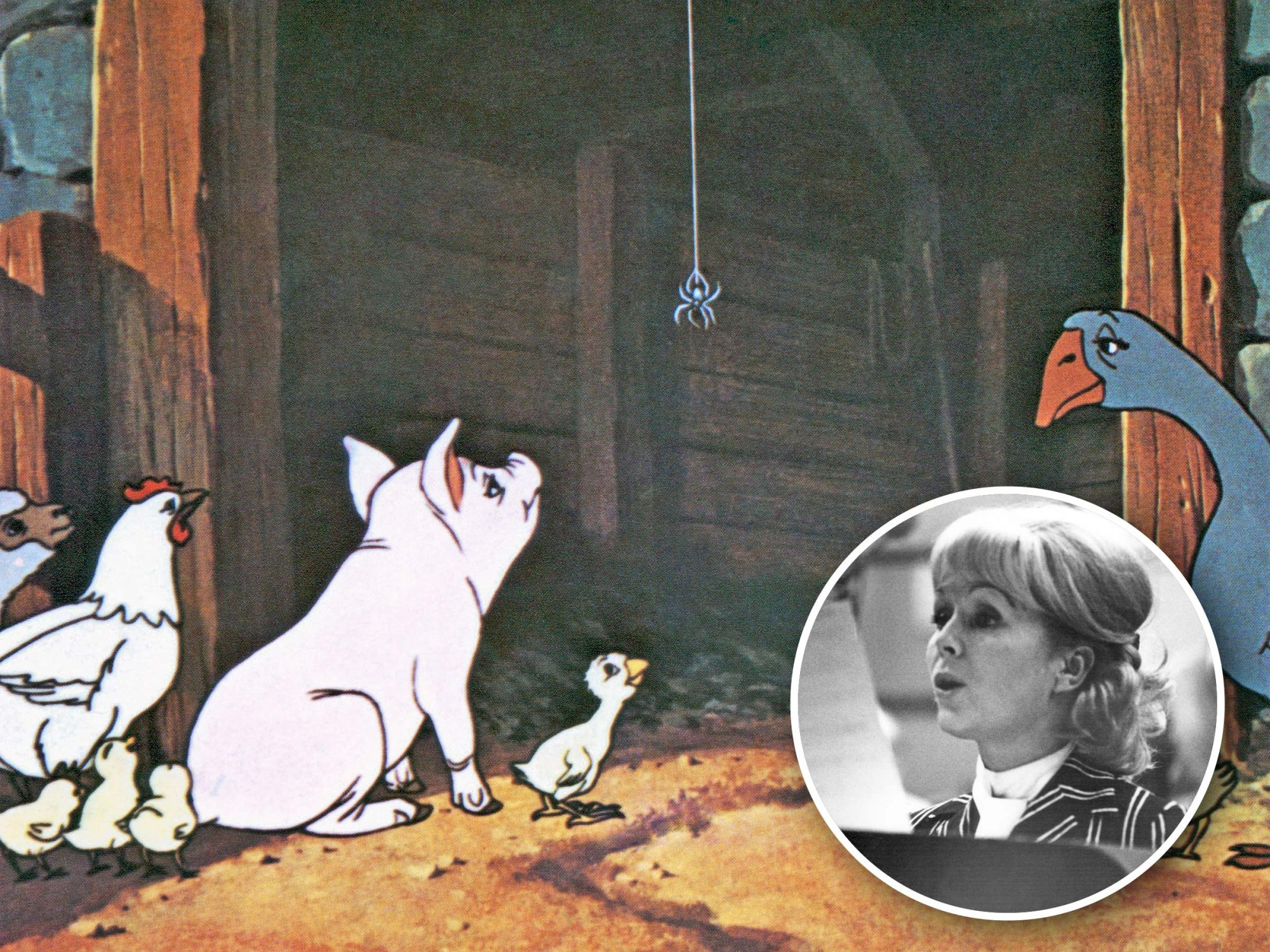 Revisit Debbie Reynolds' beautiful performance in 'Charlotte's Web'
