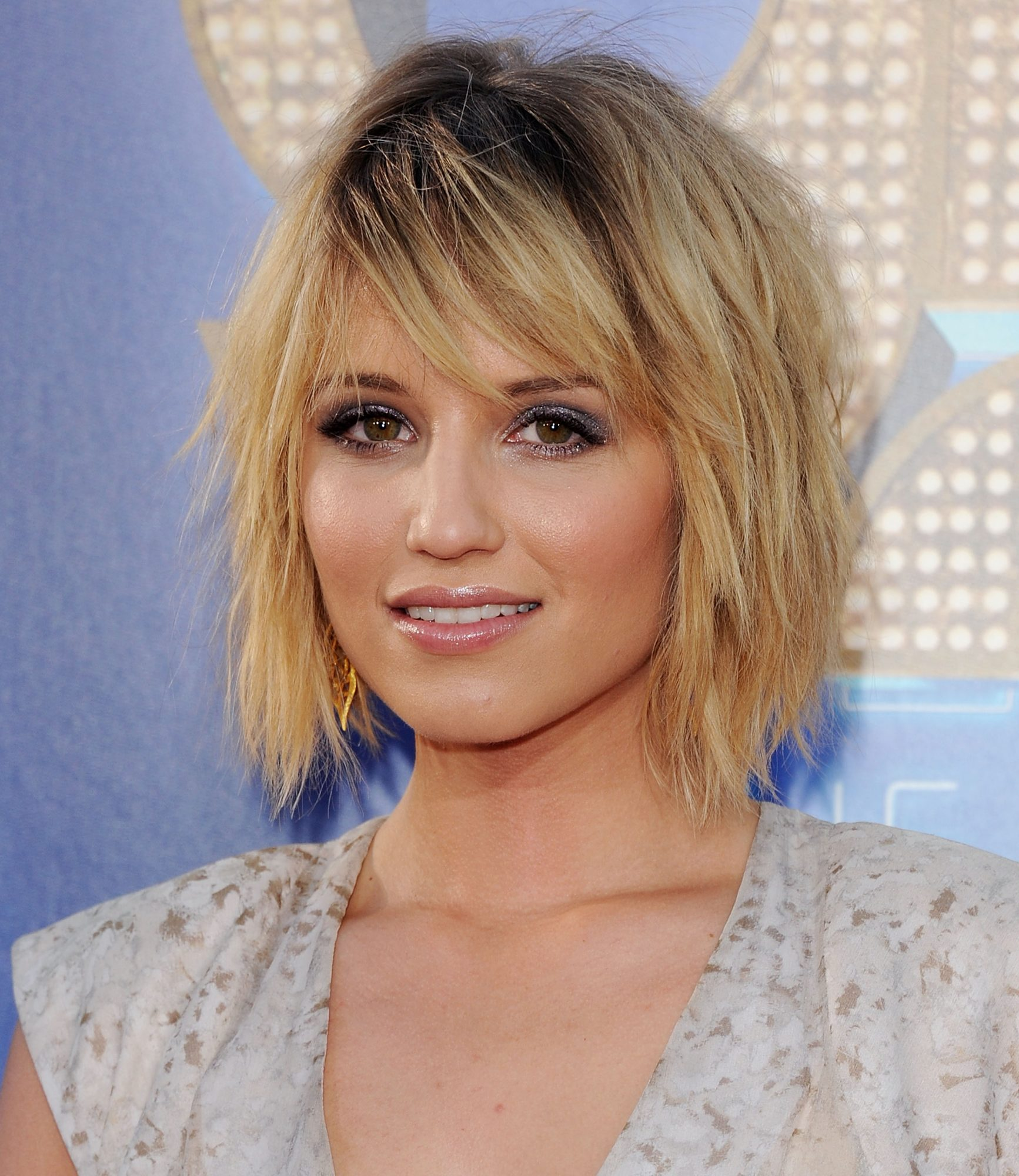 Dianna Agron Short Layered Haircut