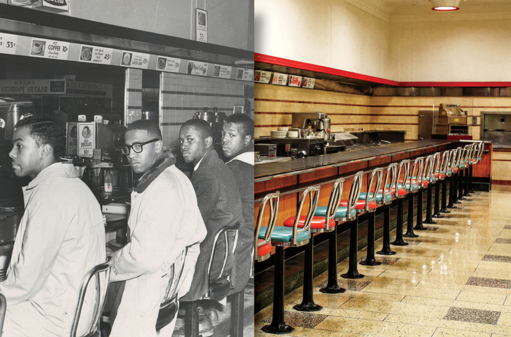 F.W. Woolworth Co. Lunch Counter