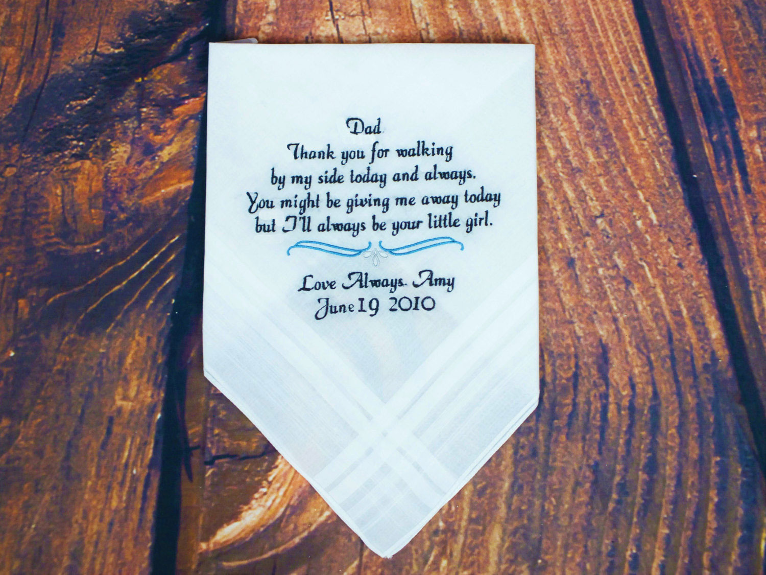 Personalized Hankerchief