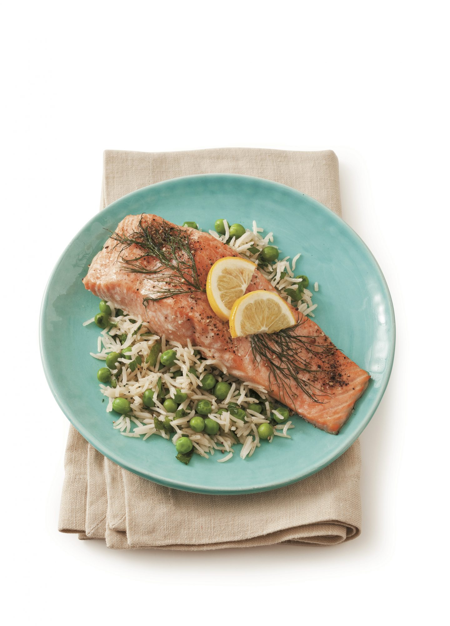Best Lemon Recipes Roasted Salmon with Lemon and Dill