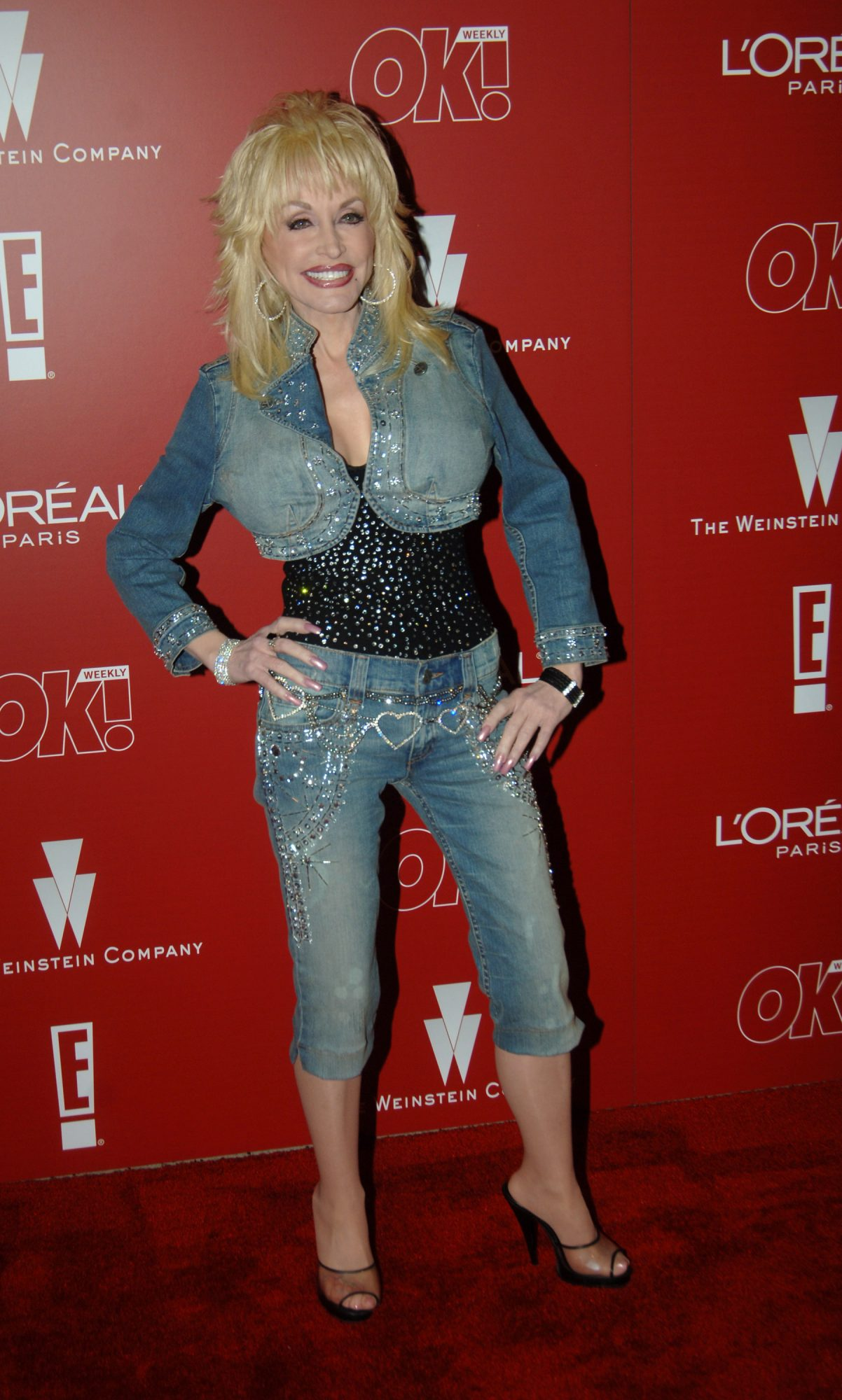Dolly Parton Red Carpet 2006 Pre-Party