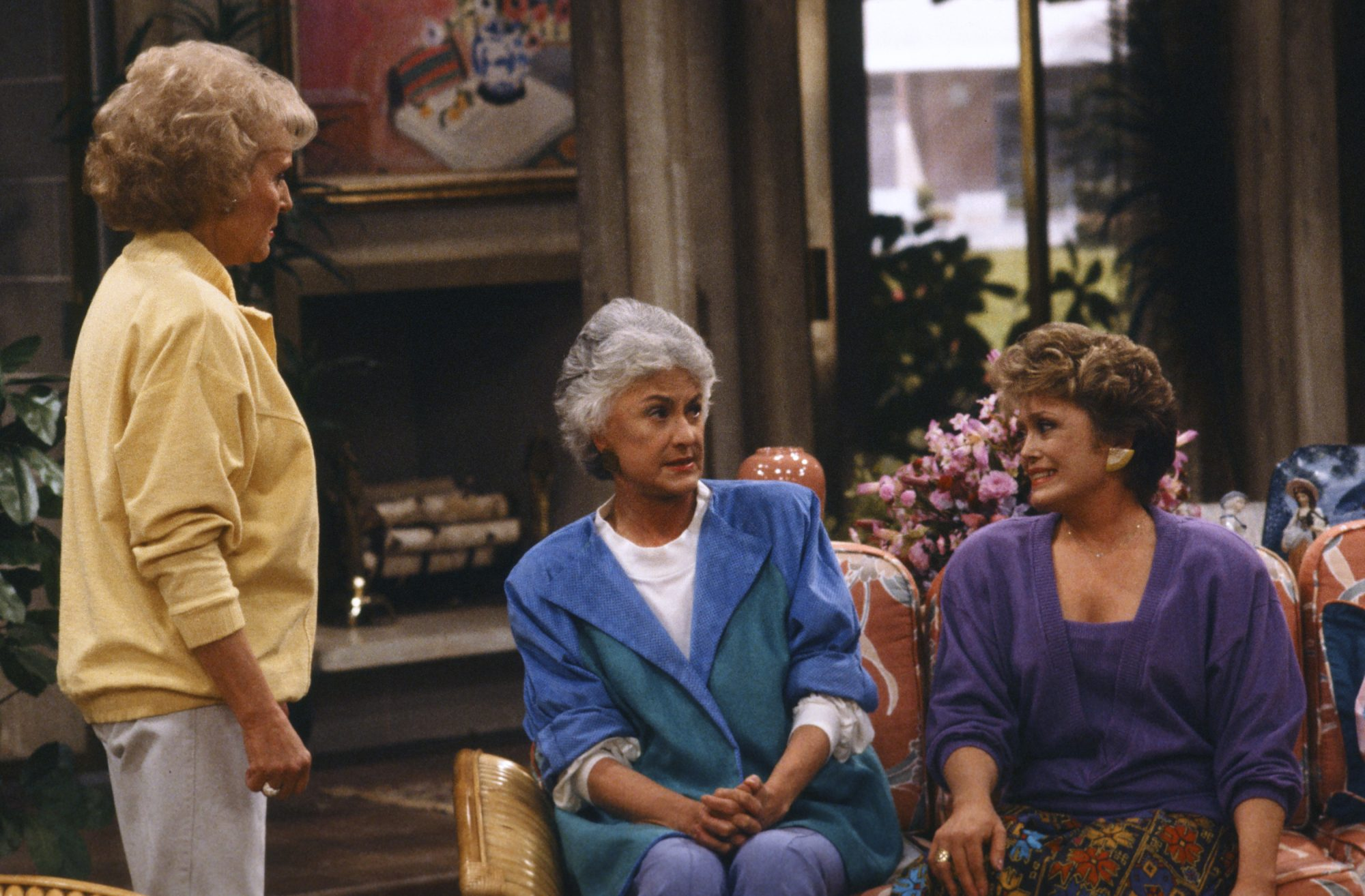 Dorothy Golden Girls keeps blanche grounded