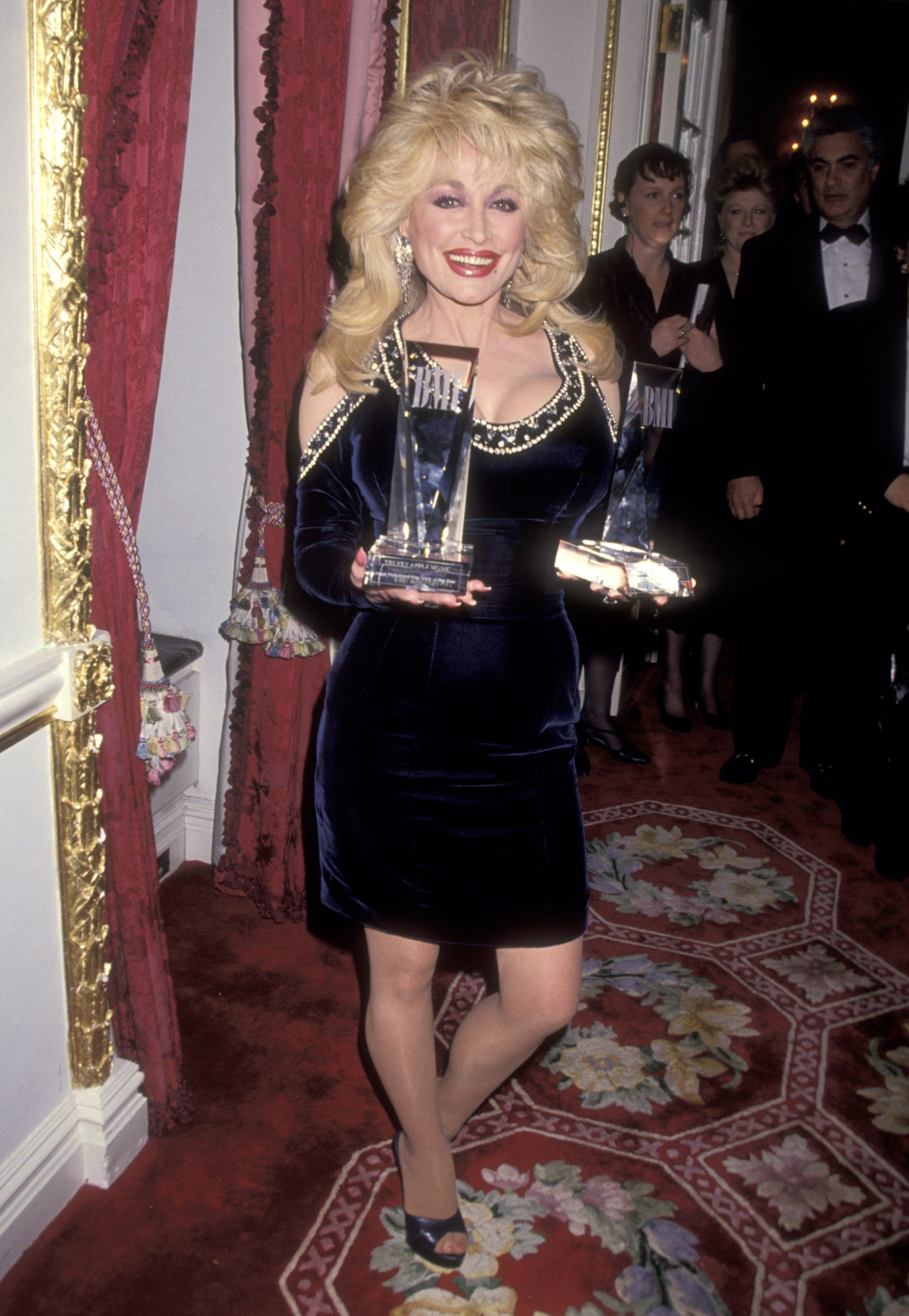 Dolly Parton Red Carpet 1994