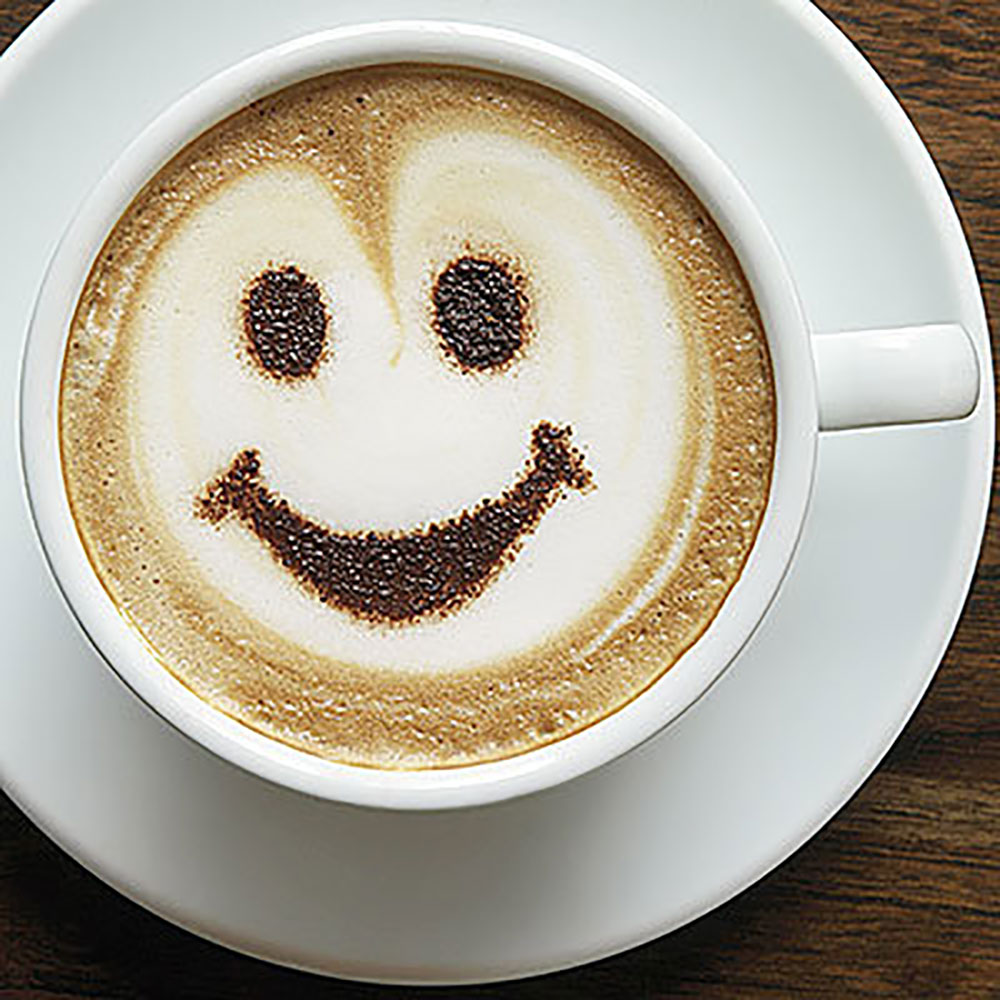 Smiling Cup of Coffee