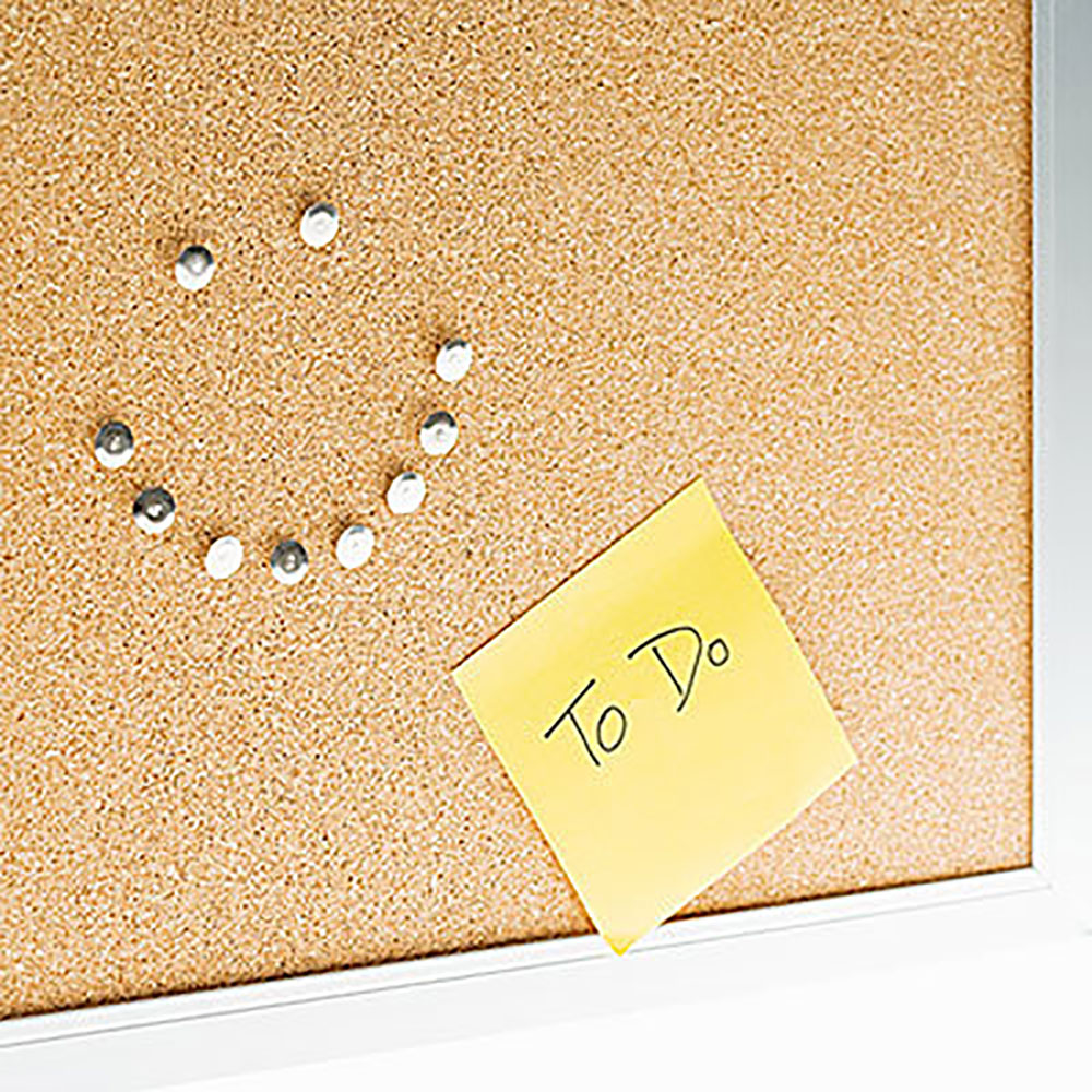 Cork Board Smiling Face