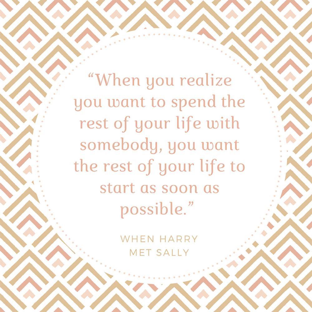 When Harry Met Sally Quote