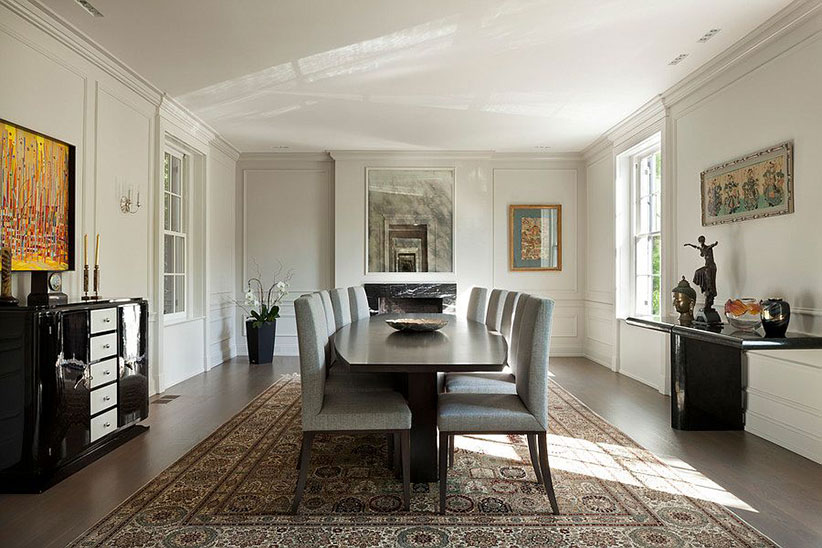 Ivanka Trump DC Home Dining Room