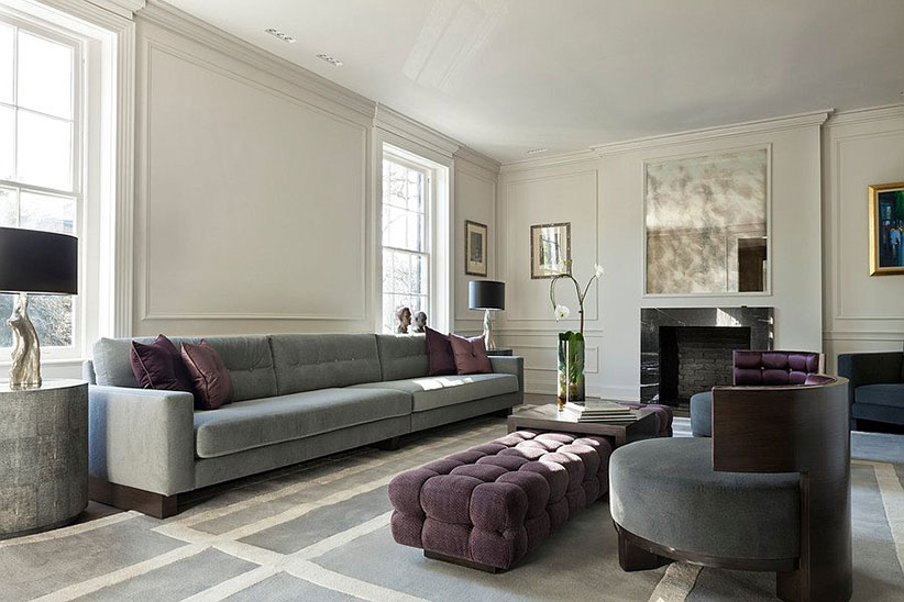 Ivanka Trump DC Home Living Room