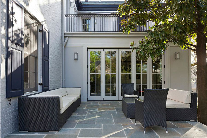 Ivanka Trump DC Home Patio