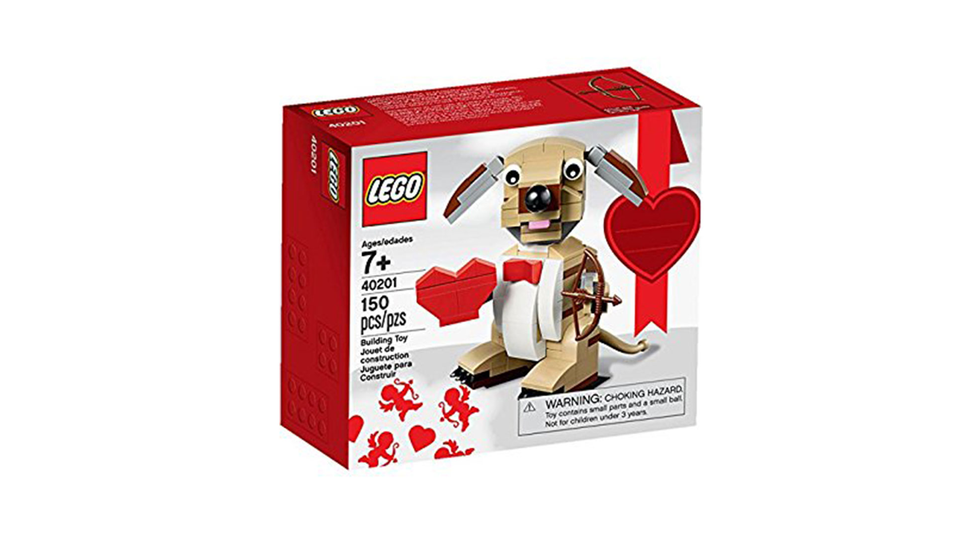Lego Cupid Dog Building Kit