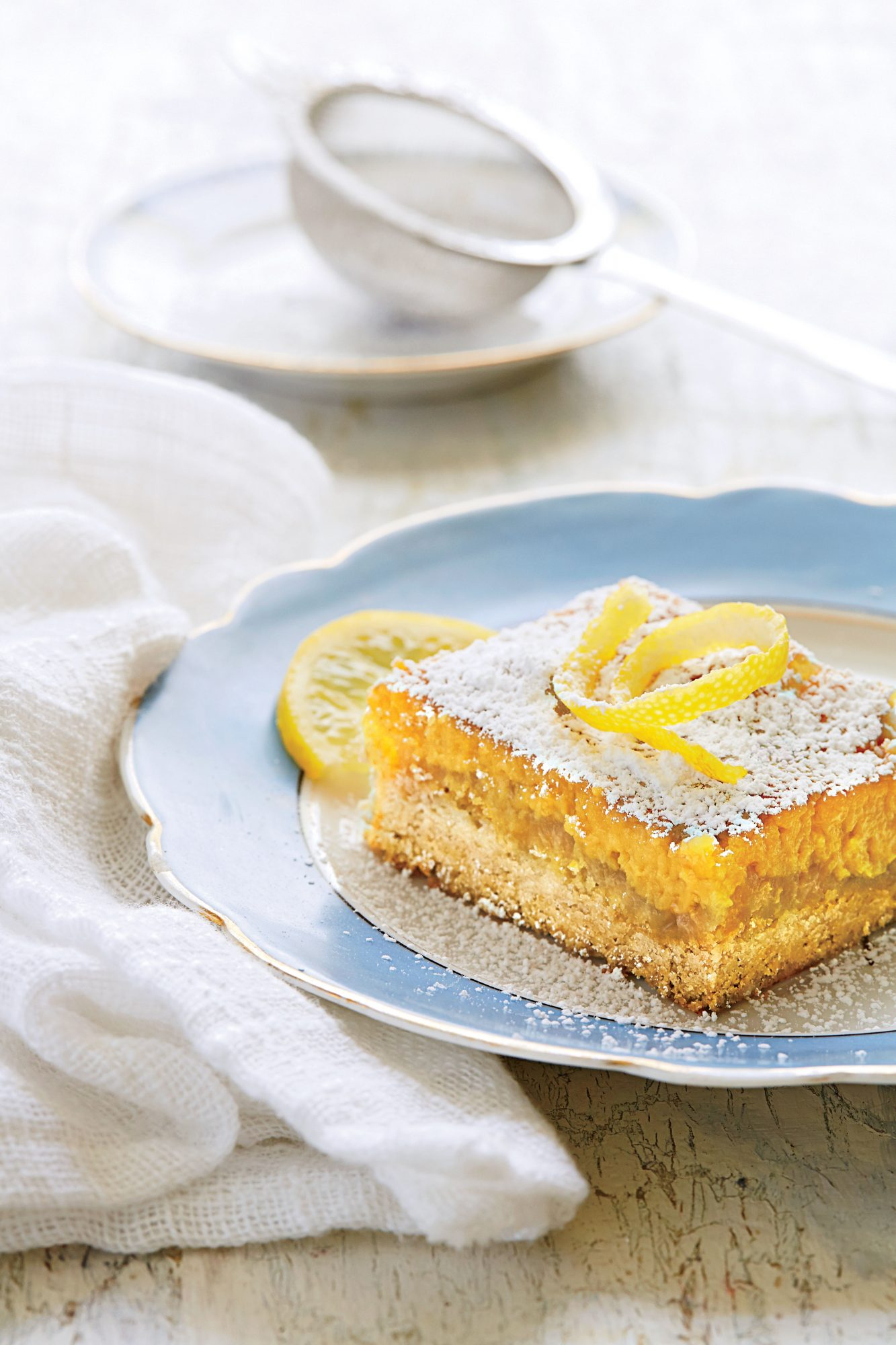 Lemon Bar Cake Recipe