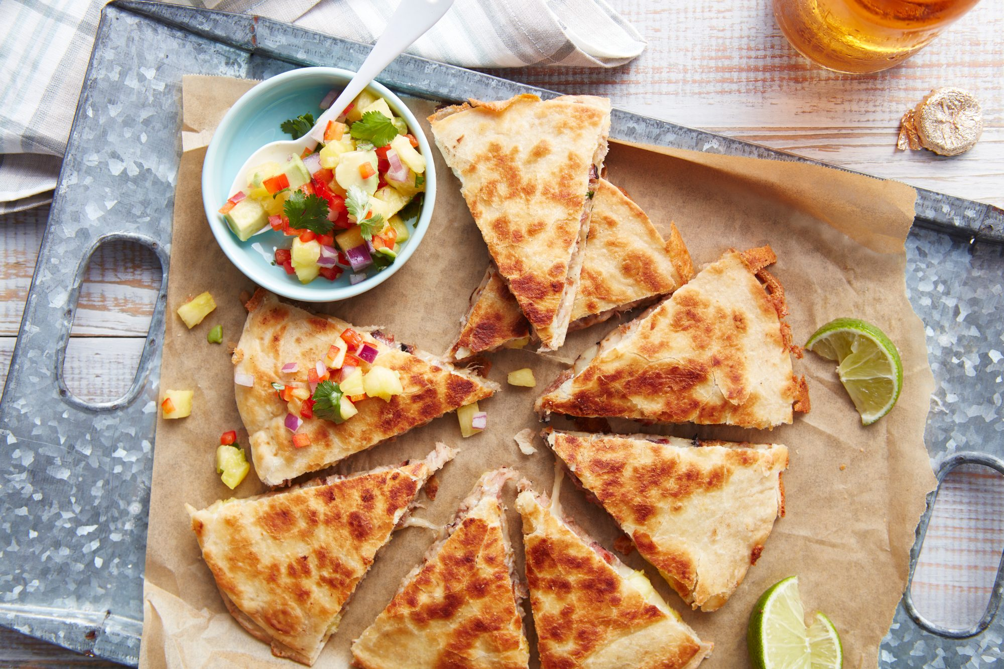 Quesadillas al Pastor Recipe Southern Living