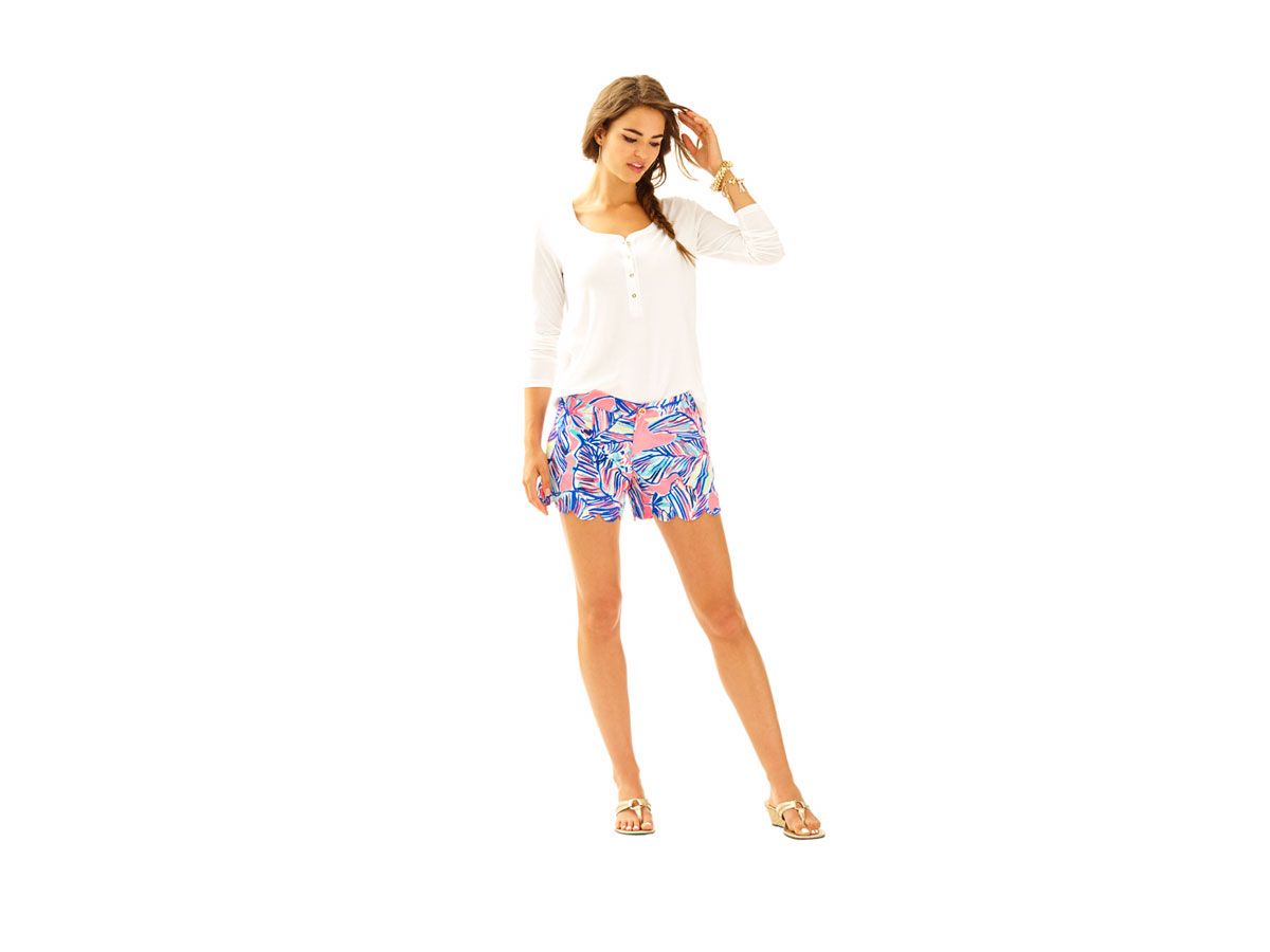 Buttercup Scallop Hem Short