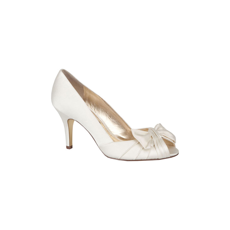 Southern Living Ivory Nina Forbes Wedding Shoes