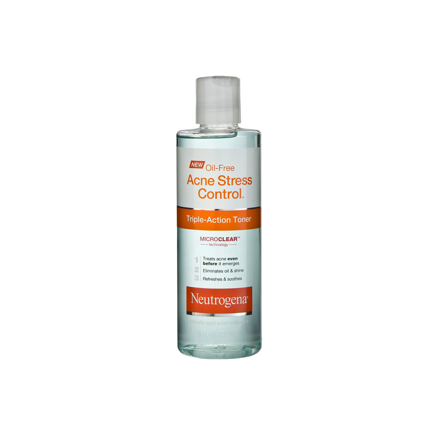 Oil-Free Acne Stress Control Triple-Action Toner