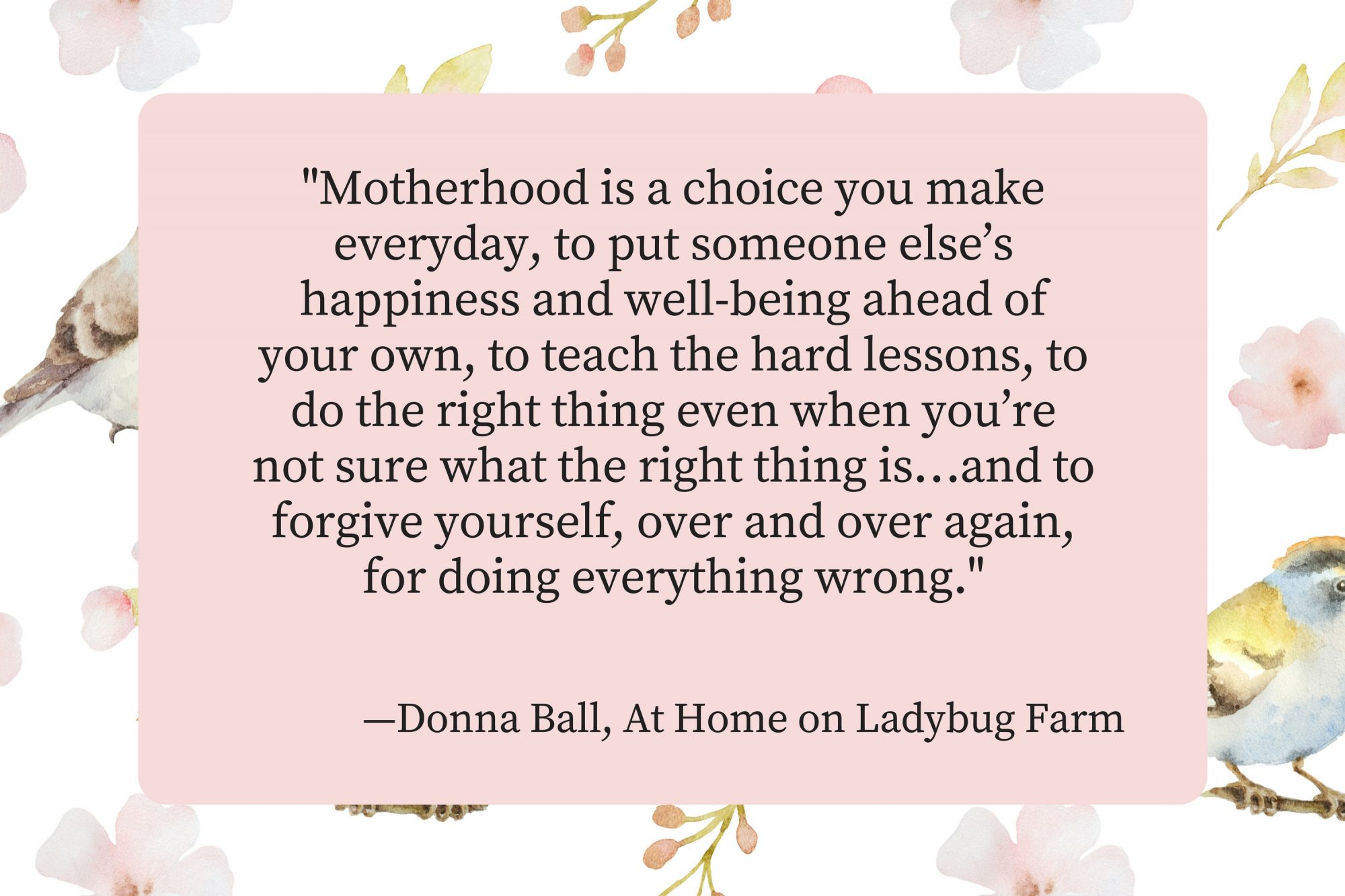 Mothers Day Quotes Donna Ball