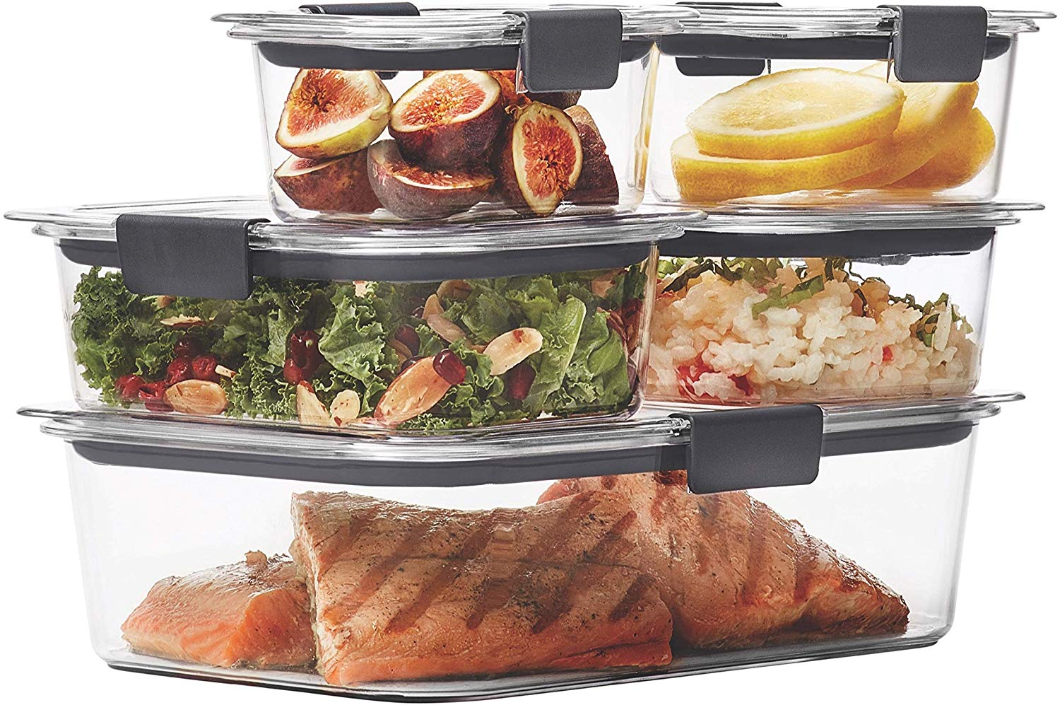 Leak-Proof, Airtight Food Storage Containers
