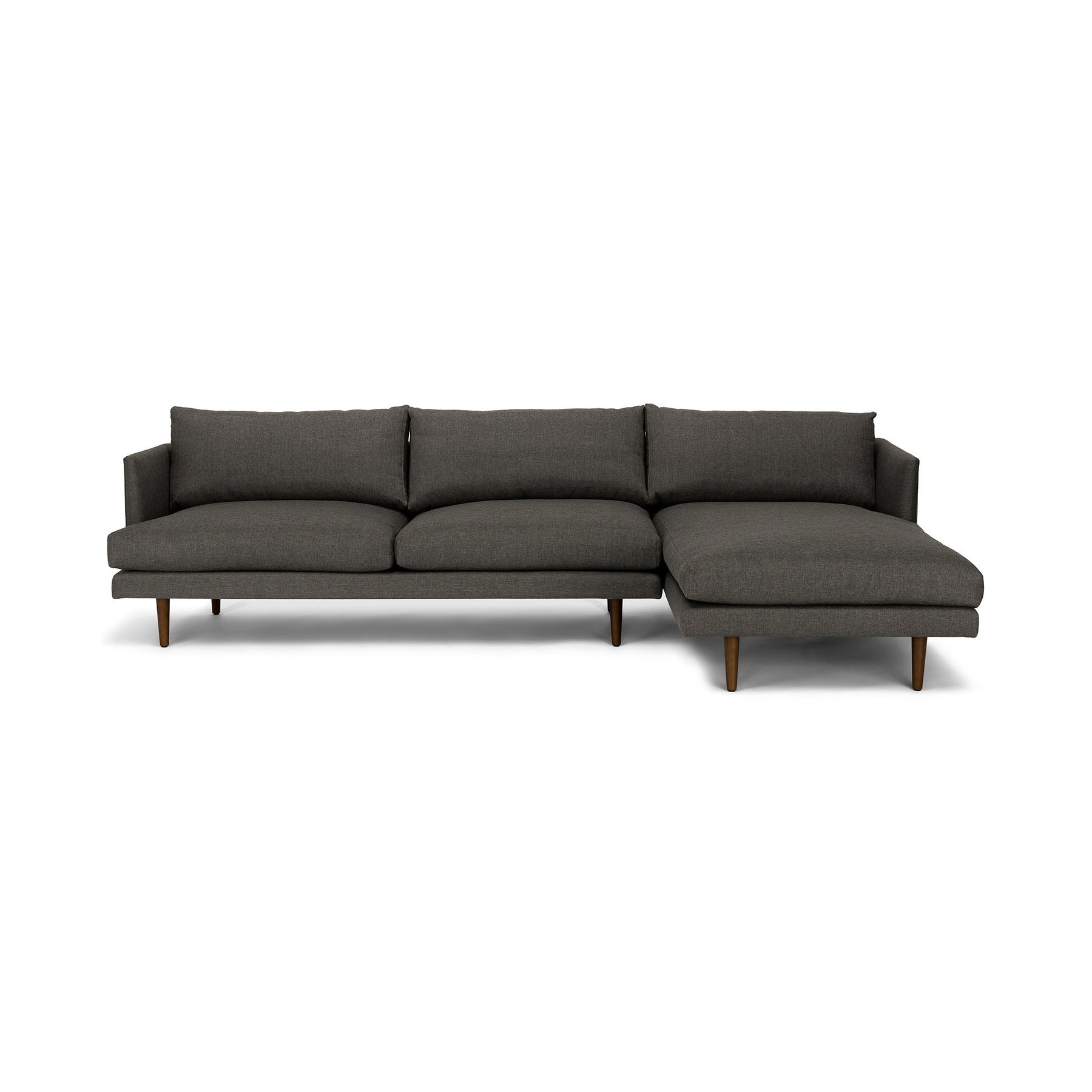 Dark Gray Modern Sectional