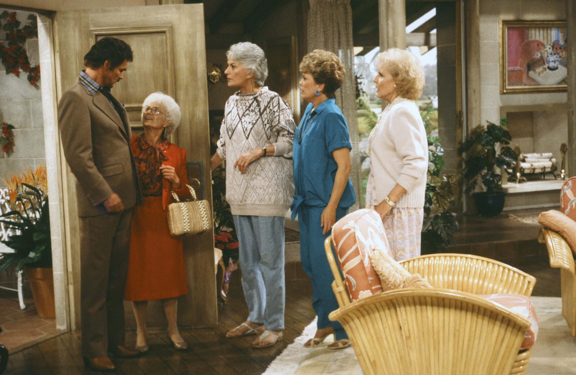 Burt Reynolds on Golden Girls