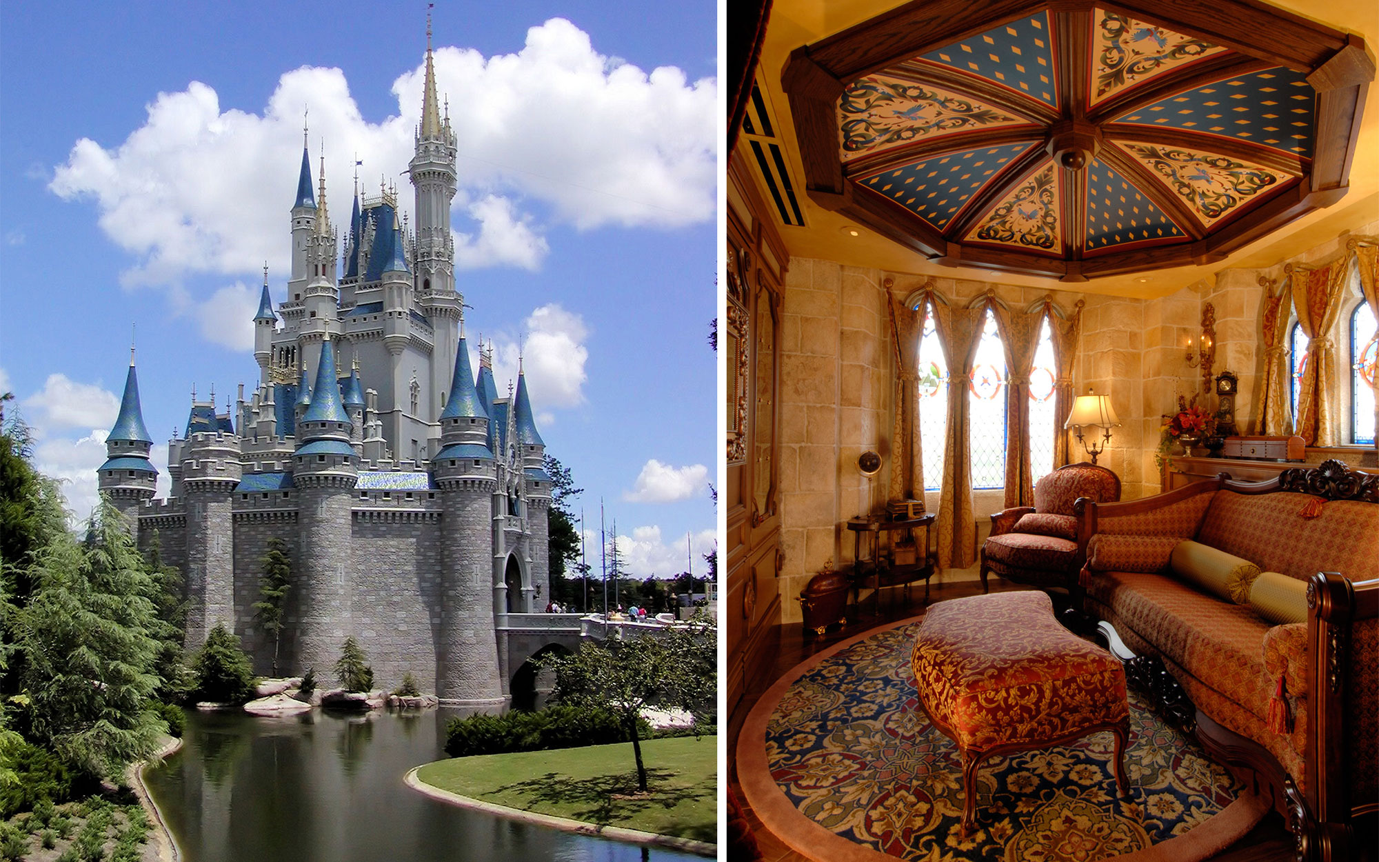 Secret Hotel Suite Inside Disney's Cinderella Castle