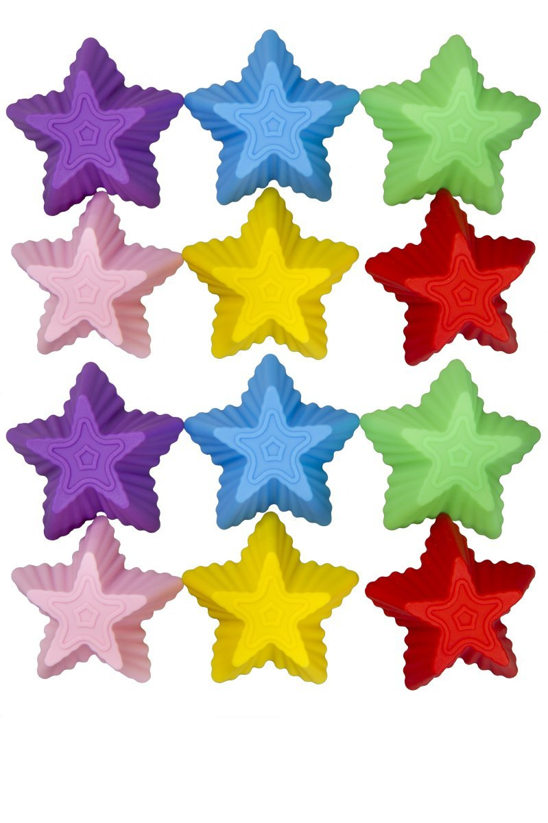 Kitchen Gadgets Star Cupcake Molds