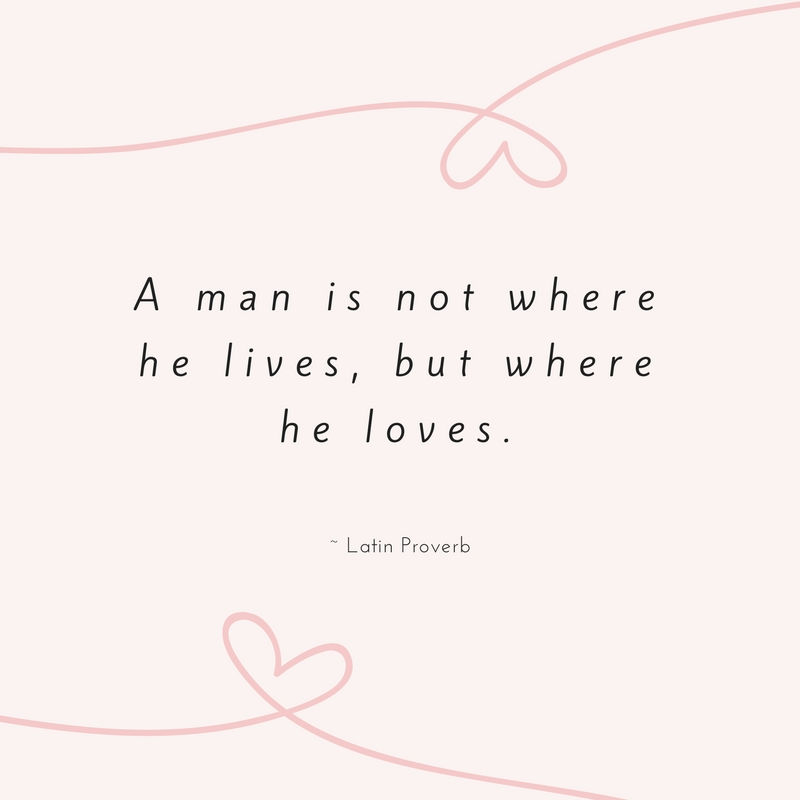 Latin Proverb Love Quote