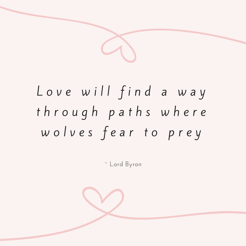 Lord Byron Love Quote