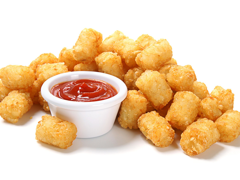 Here's the Right Way to Cut Potatoes for Every Breakfast Dish message-editor%2F1486937538653-tater-tots-ketchup-inline