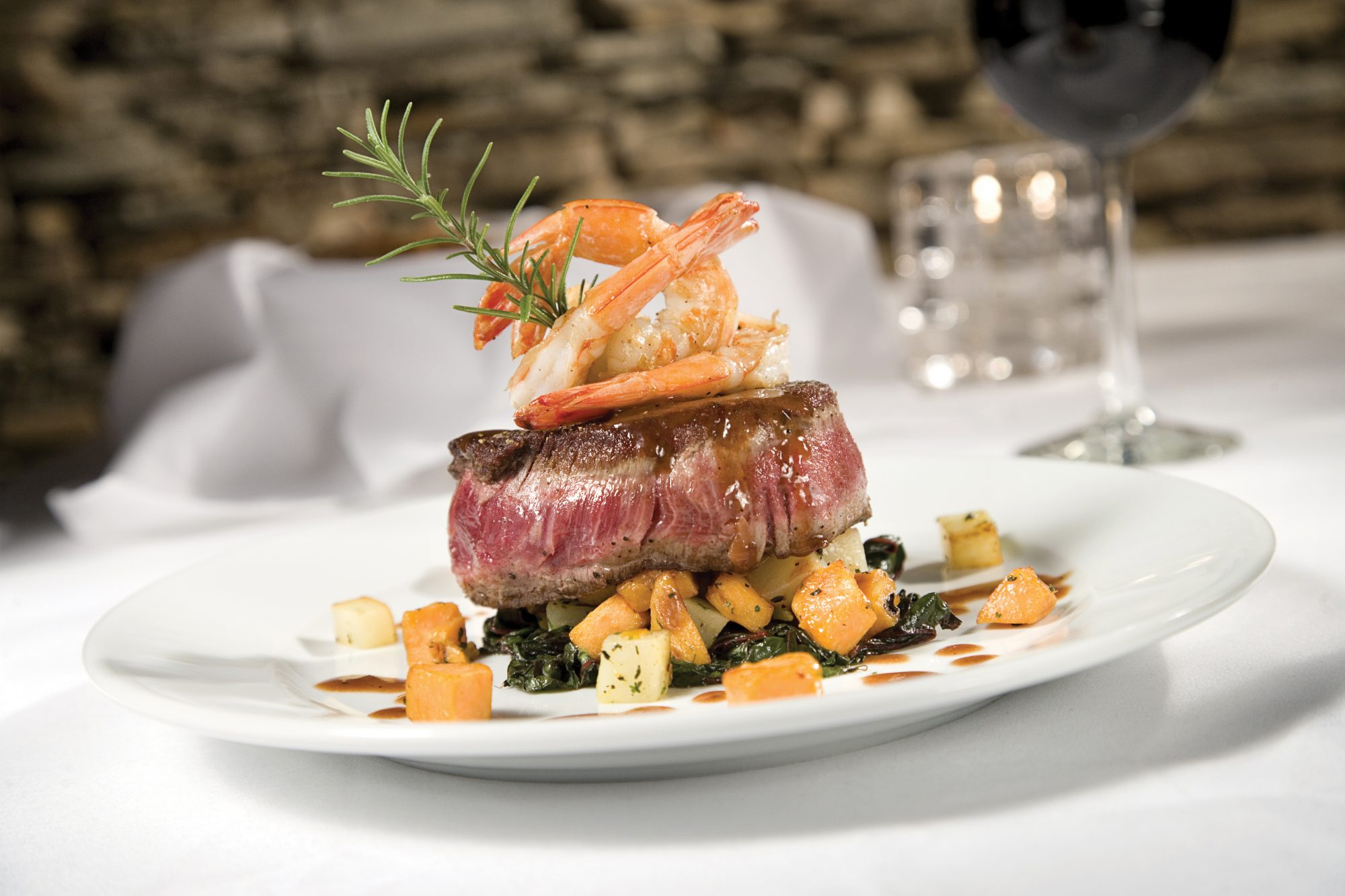 Surf and Turf at the Aspen Grille in Myrtle Beach