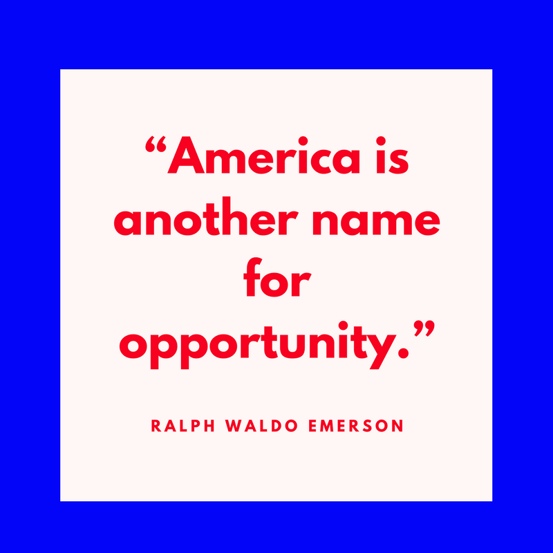 Ralph Waldo Emerson on Opportunity