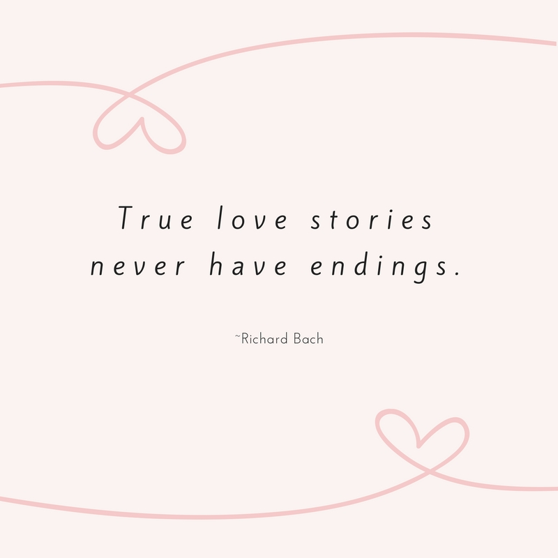 Richard Bach Love Quote