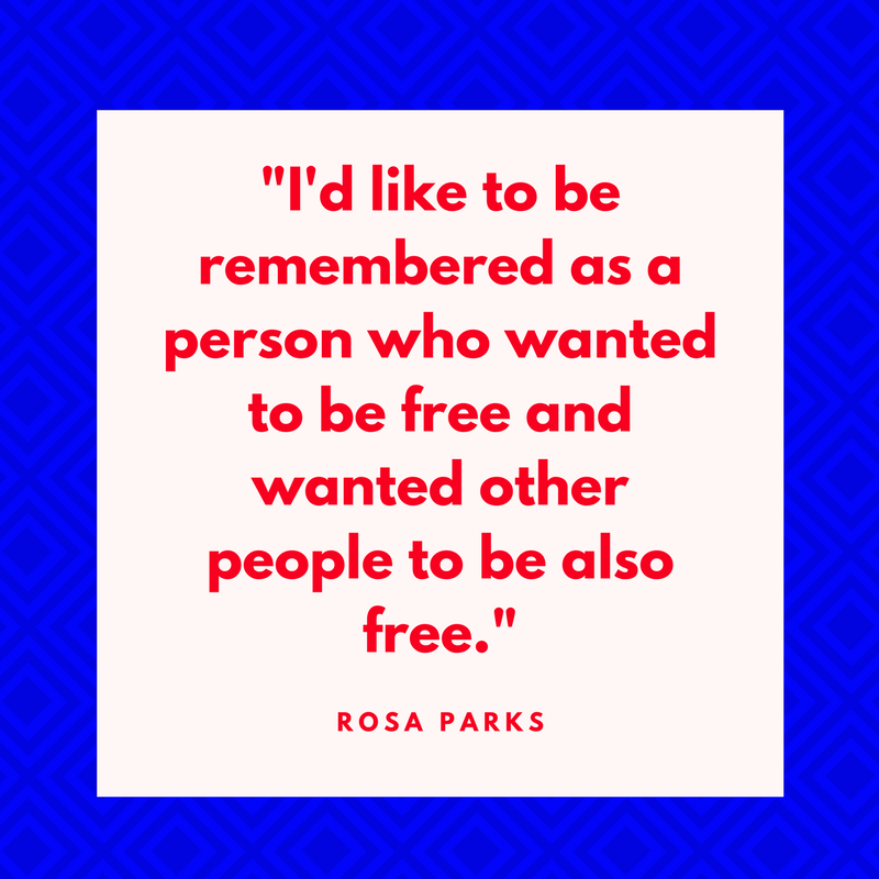 Rosa Parks on Freedom