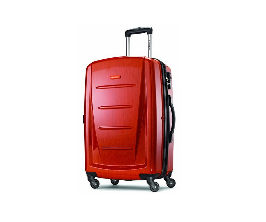 Red Samsonite Carryon