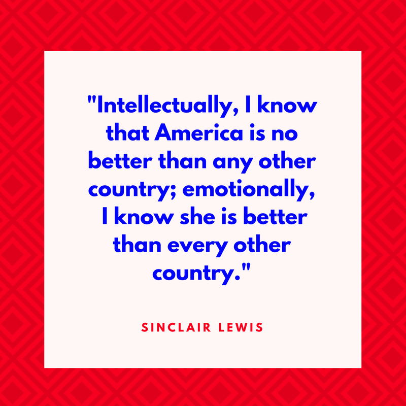 Sinclair Lewis on America