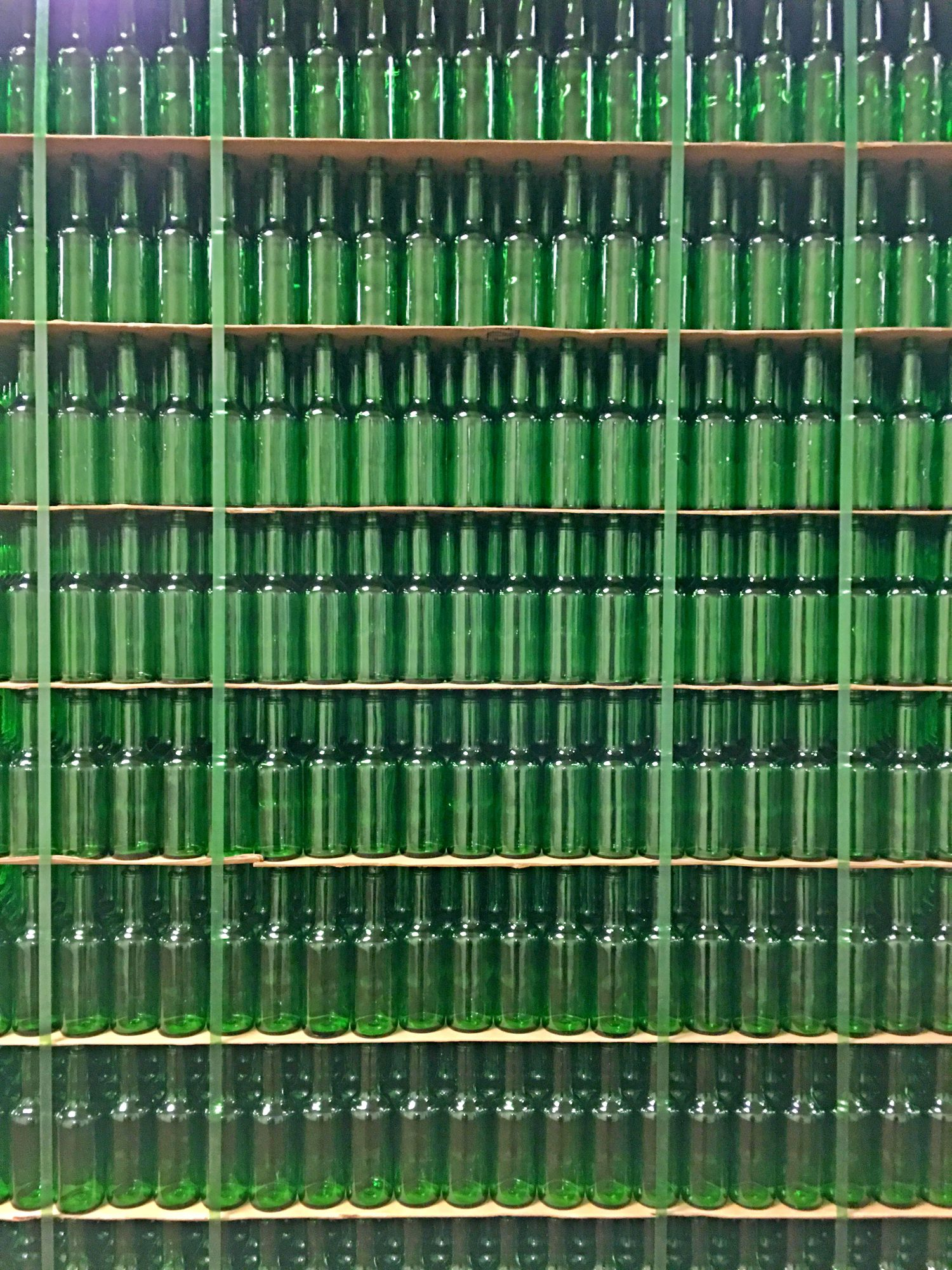 Tabasco Factory Bottles