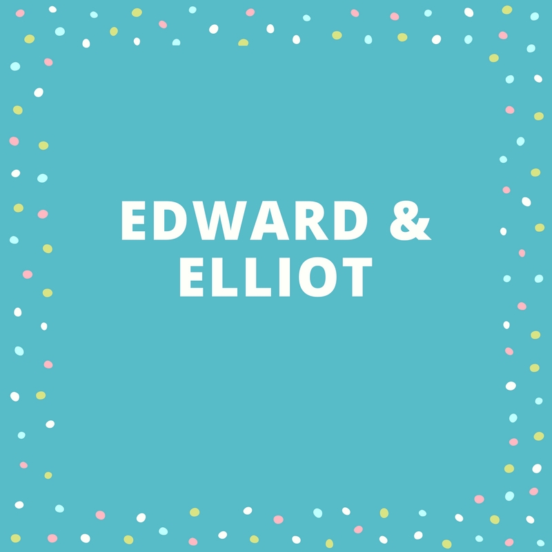 Twin Names: Edward and Elliot