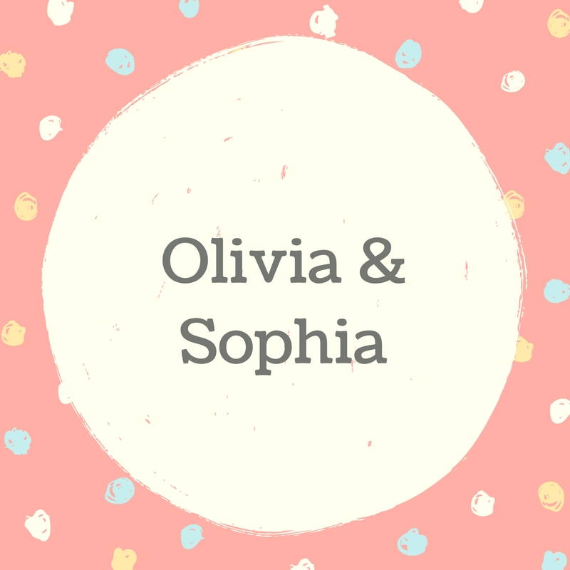 Twin Names: Olivia and Sophia