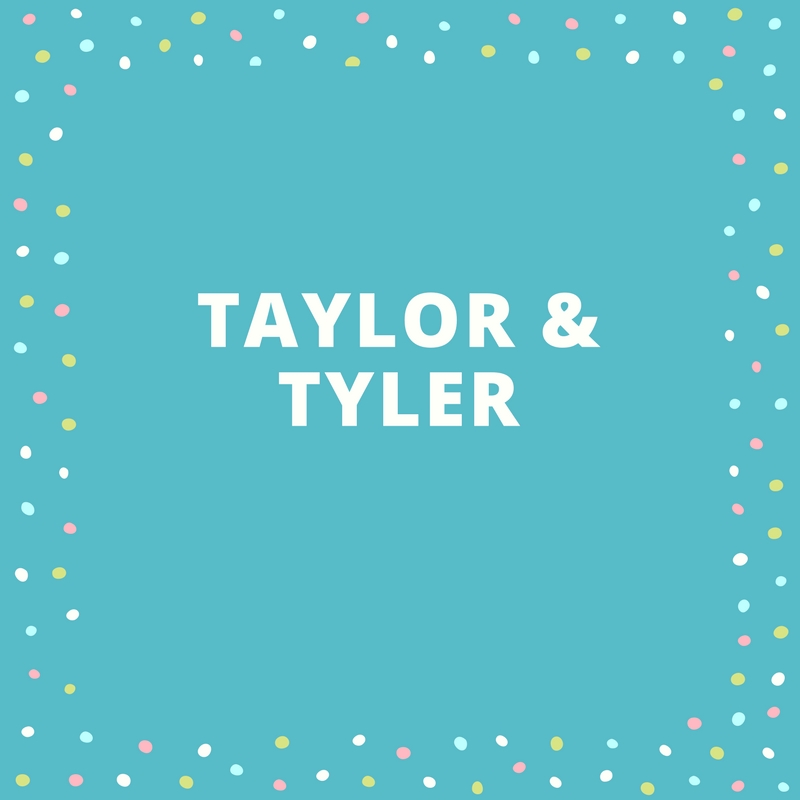 Twin Names: Taylor and Tyler