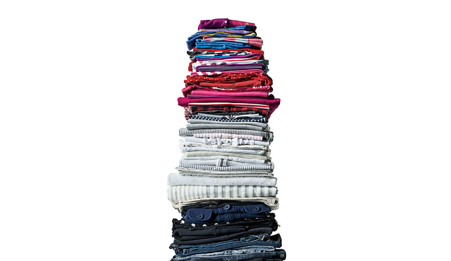Stack of Folded Clothes
