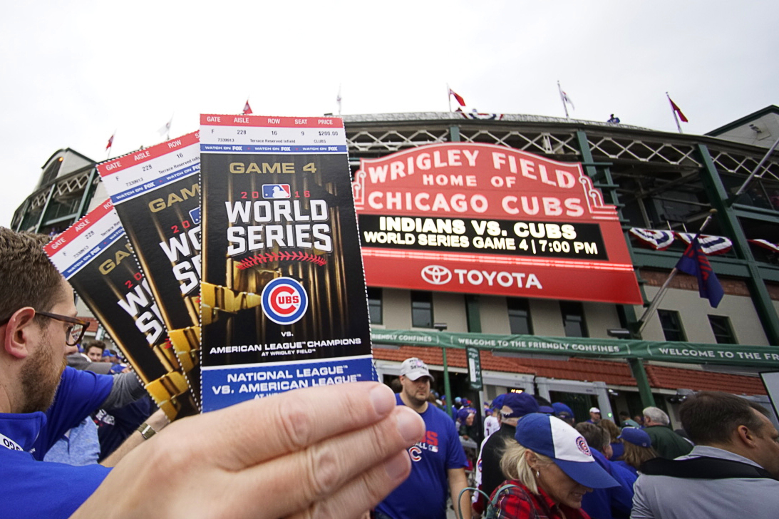 World Series Baseball Tickets