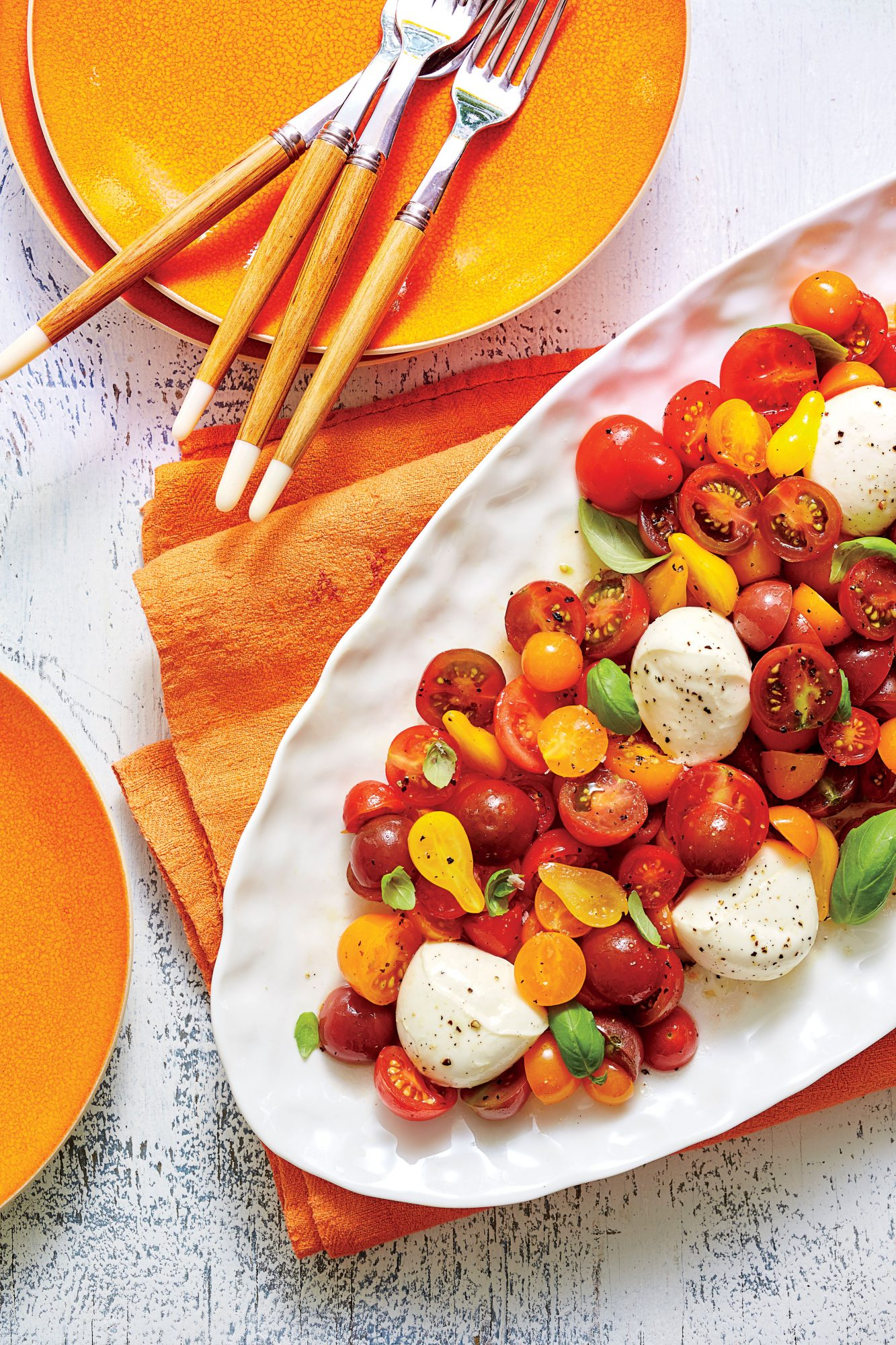 Cherry Tomato Caprese Salad Recipe