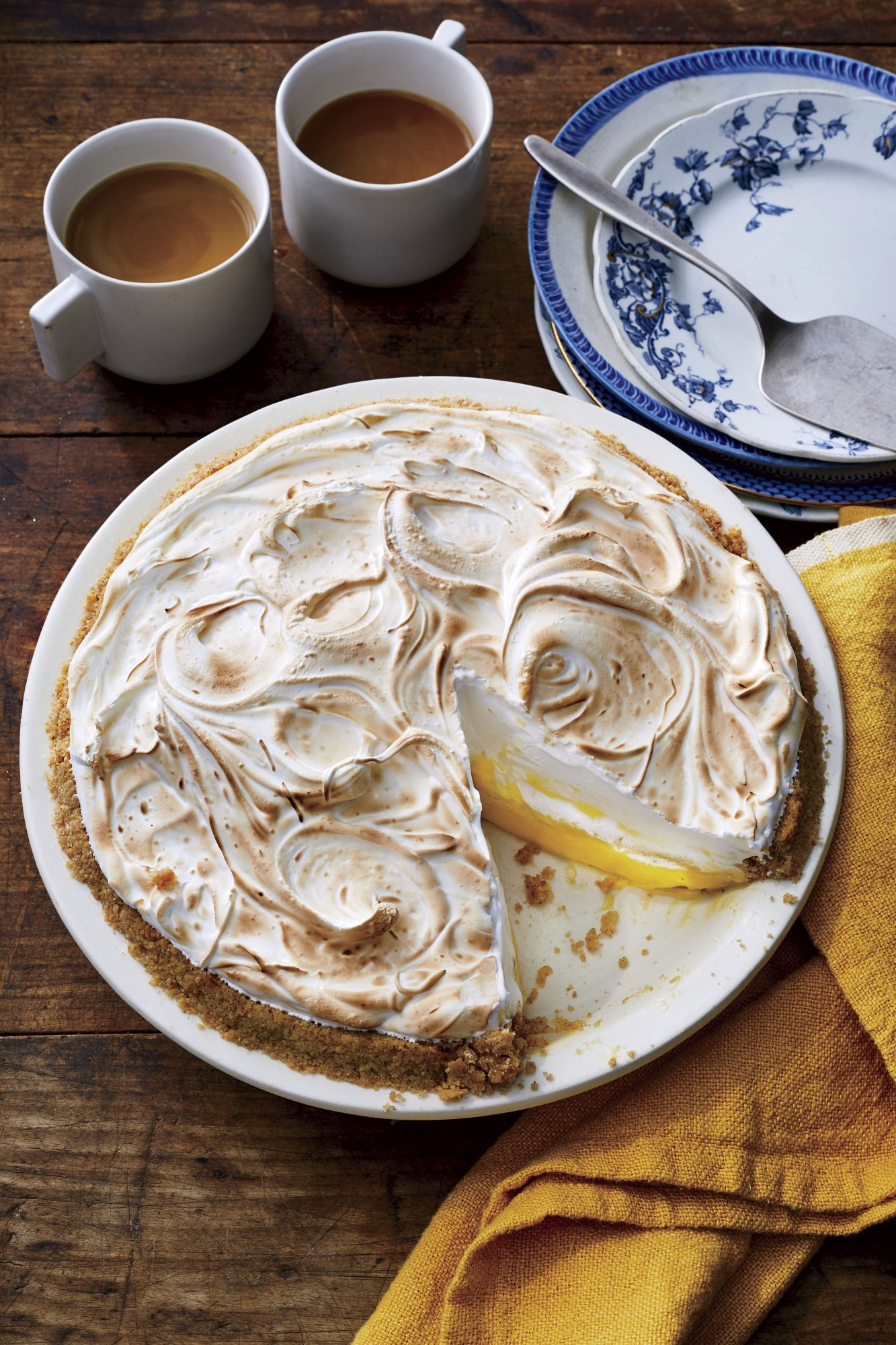 How to Keep a Meringue Pie from Weeping